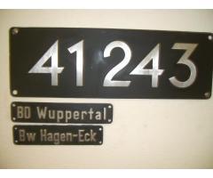 DRG Schild 41 245 oder 41 293
