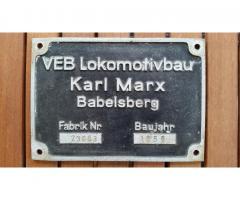 Im Tausch abzugeben: LKM Fabrikschild 23 1083