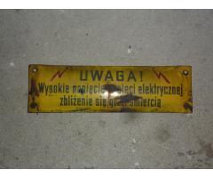 Biete Lokschild Warnschild einer Ty2 der PKP