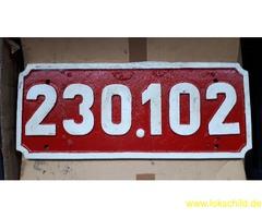 Lokschild P8 CFR 230.102