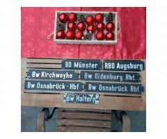 Original Bw und BD Schilder