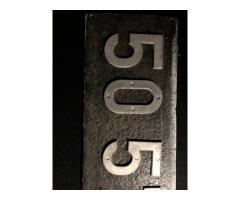 Dampflokschild....unbekannt zu verkaufen