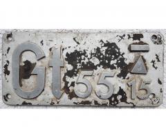 Gattungsschild Gt 55 15 (BR 94. 2-4)