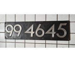 Tausche gegen 99er des Bw Wernigerode