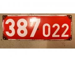 Lokschild CSD 387o22